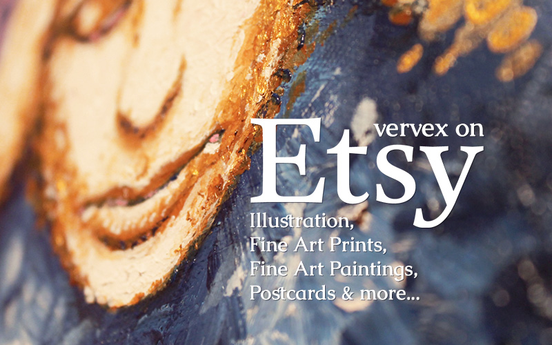 vervex Prints, Paintings and  Illustration on Etsy
