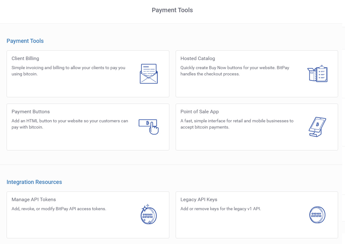 Bitpay - Payment Tools