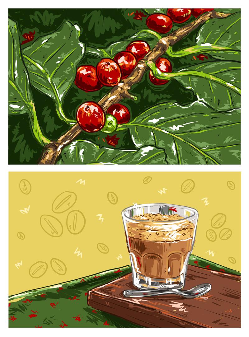 Foodie: Coffee Break, by Tina Mailhot-Roberge