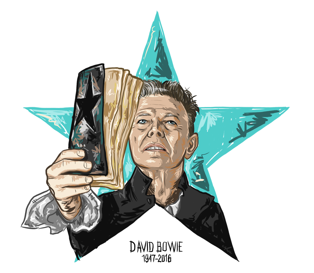 David Bowie Blackstar Tribute