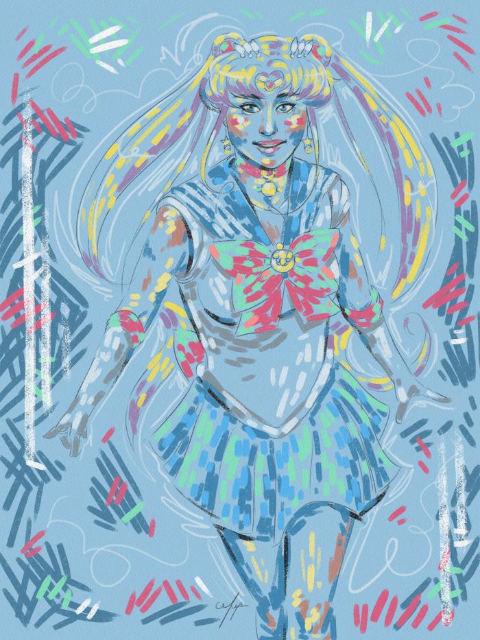 Rainbow Girl XVIII