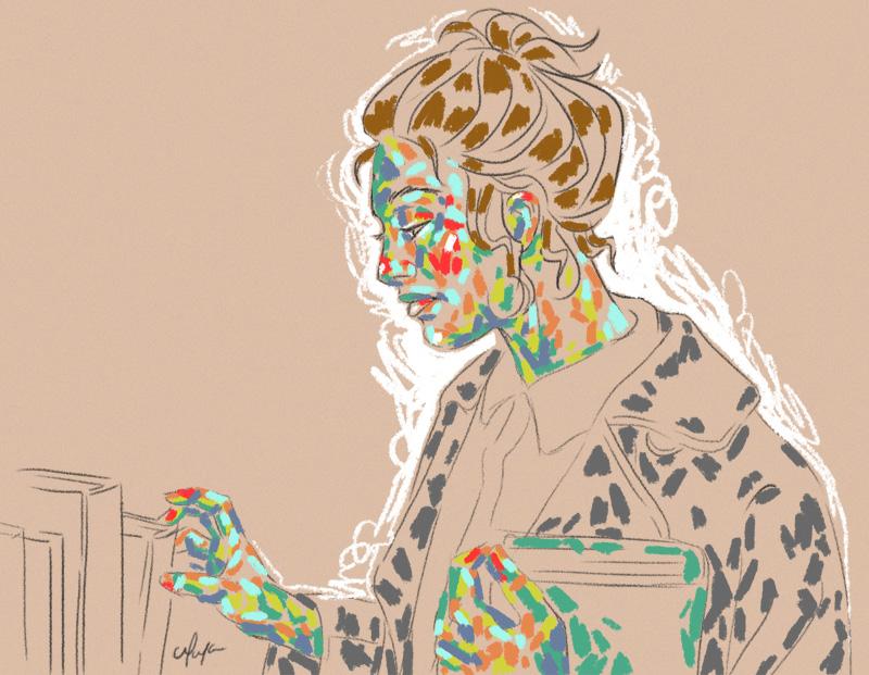 Rainbow Girl IV