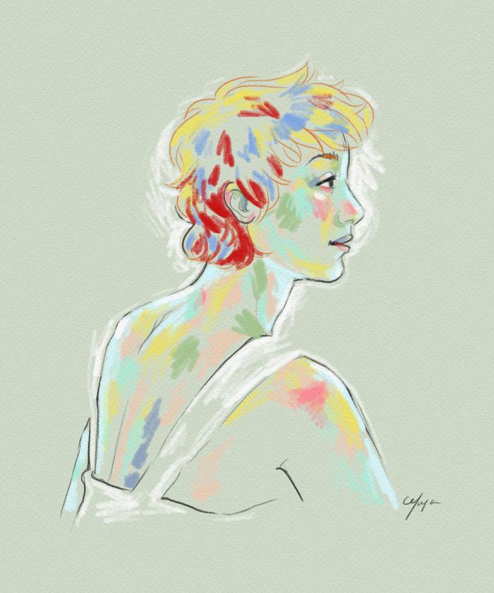 Rainbow Girl V