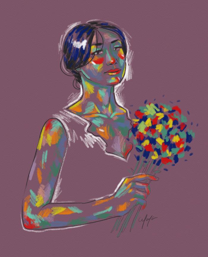 Rainbow Girl VII