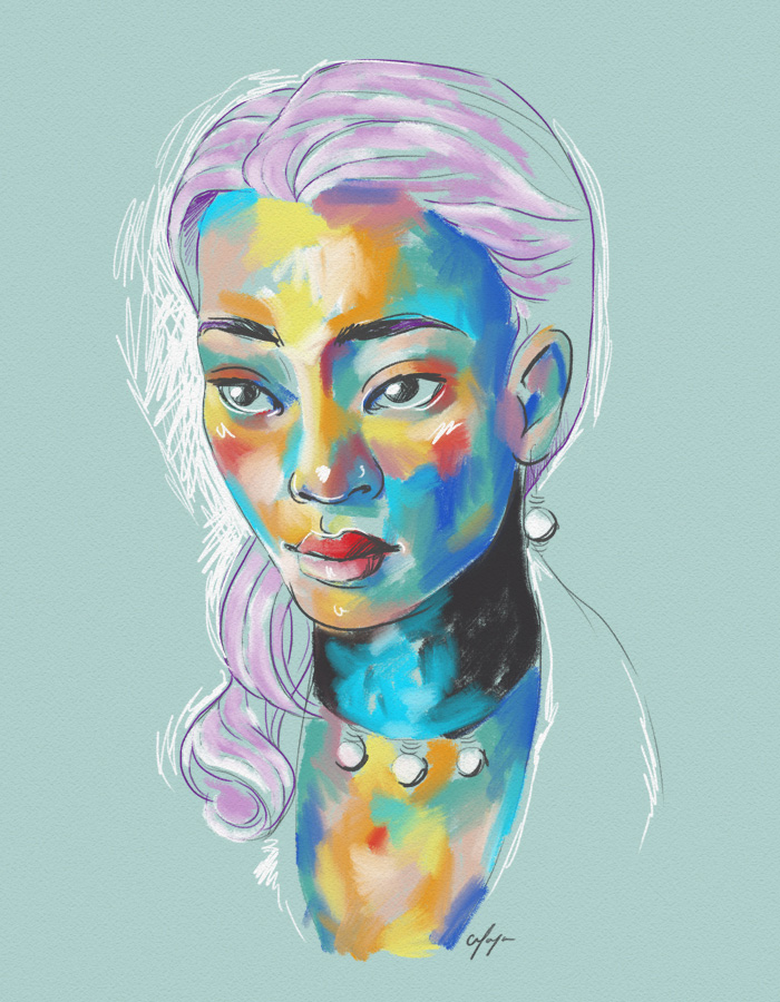 Rainbow Girl VIII