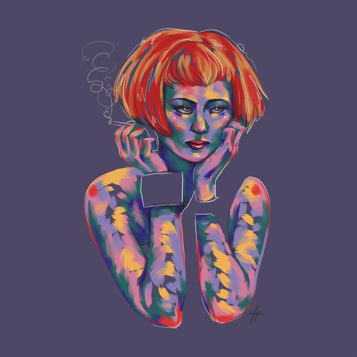 Rainbow Girl XIV