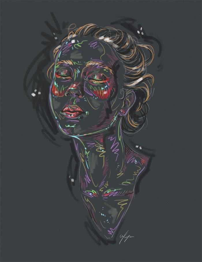 Rainbow Girl XXVI