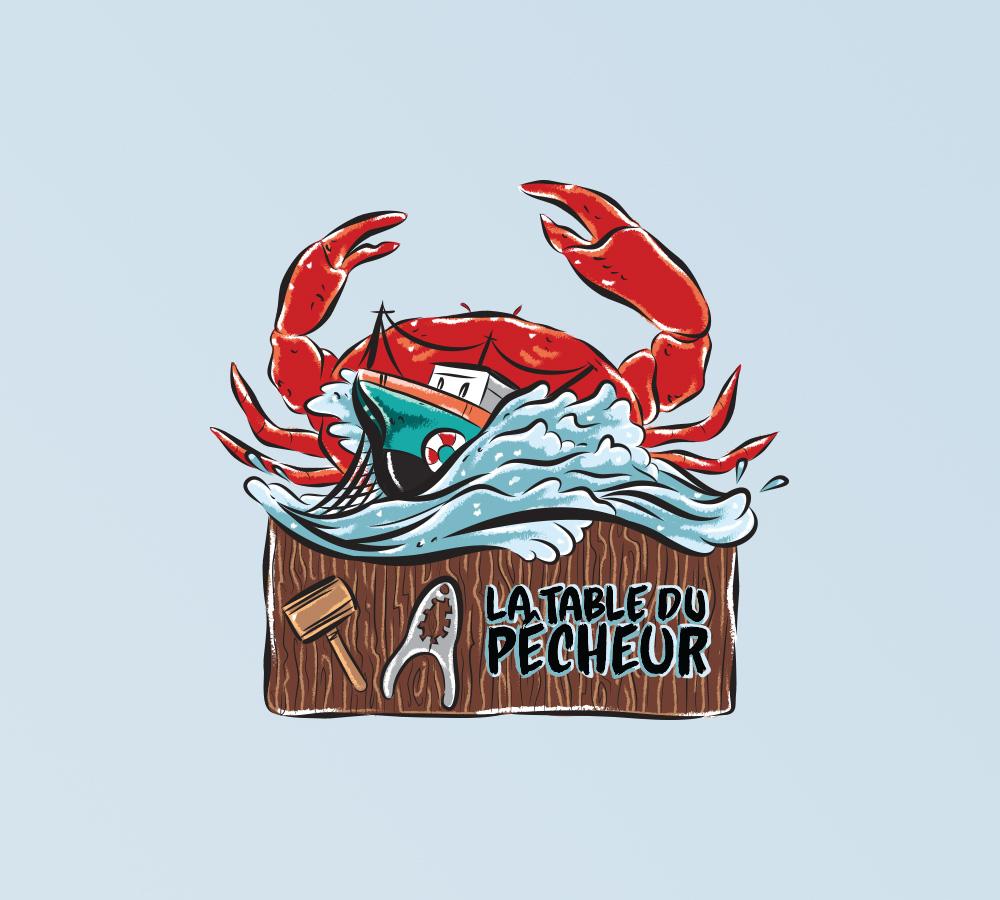 La Table Du Pêcheur - Fisherman's Table