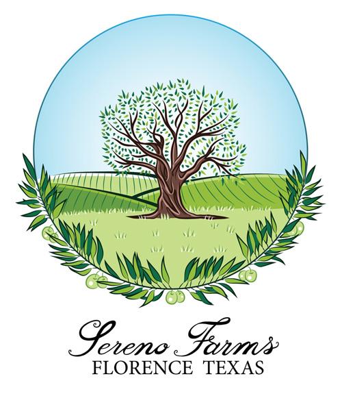 Sereno Farms Logo Texas