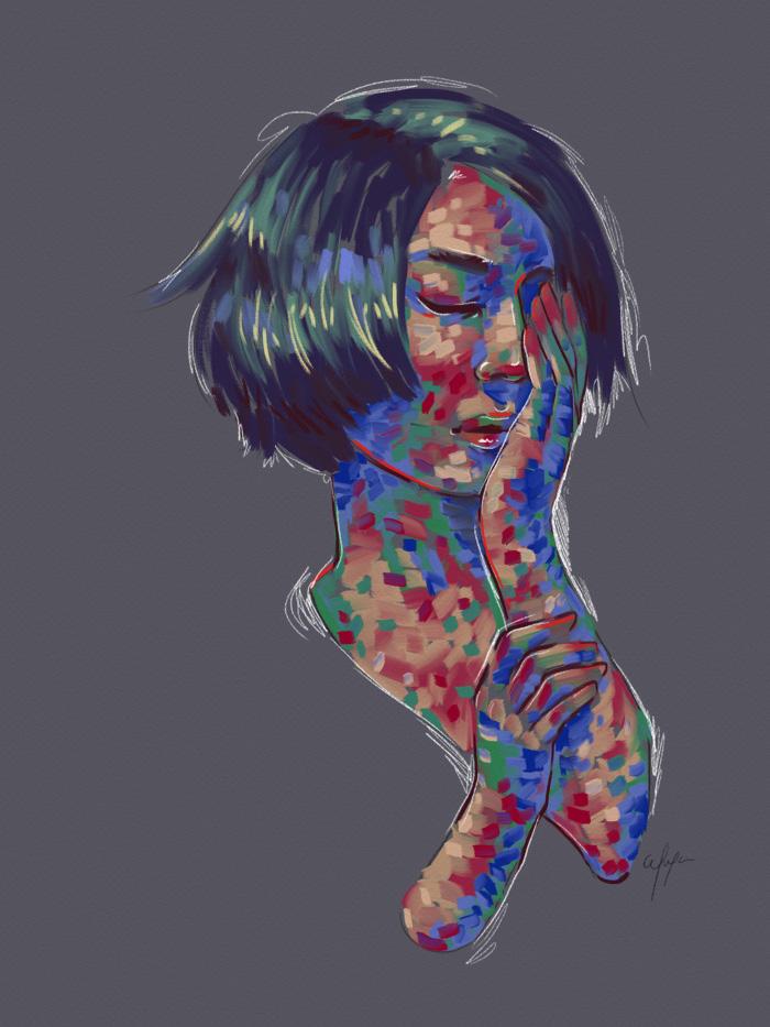 Rainbow Girl 12