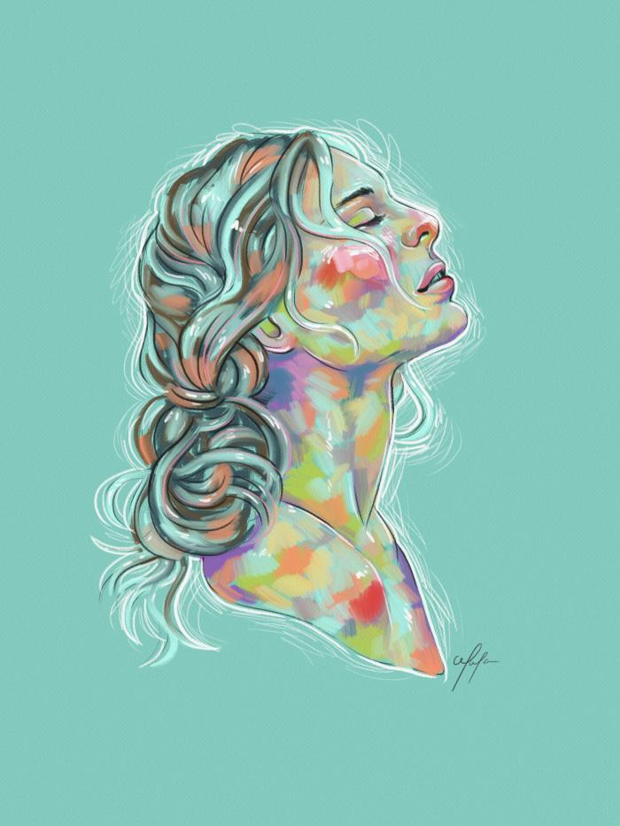 Rainbow Girl 21