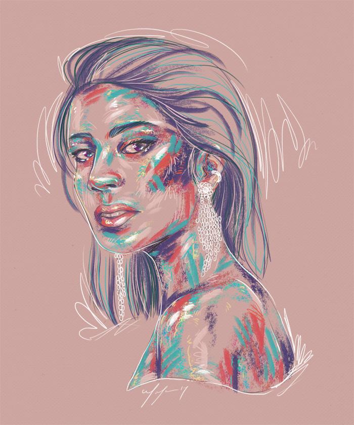 Rainbow Girl 41