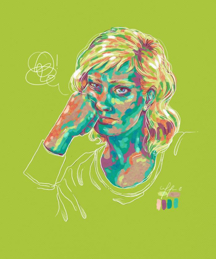 Rainbow Girl 57