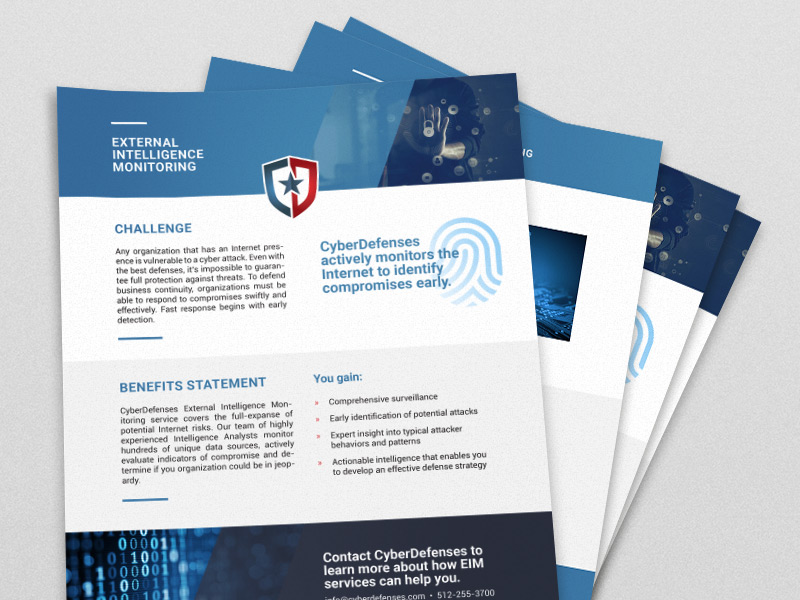 CyberDefenses Document Design