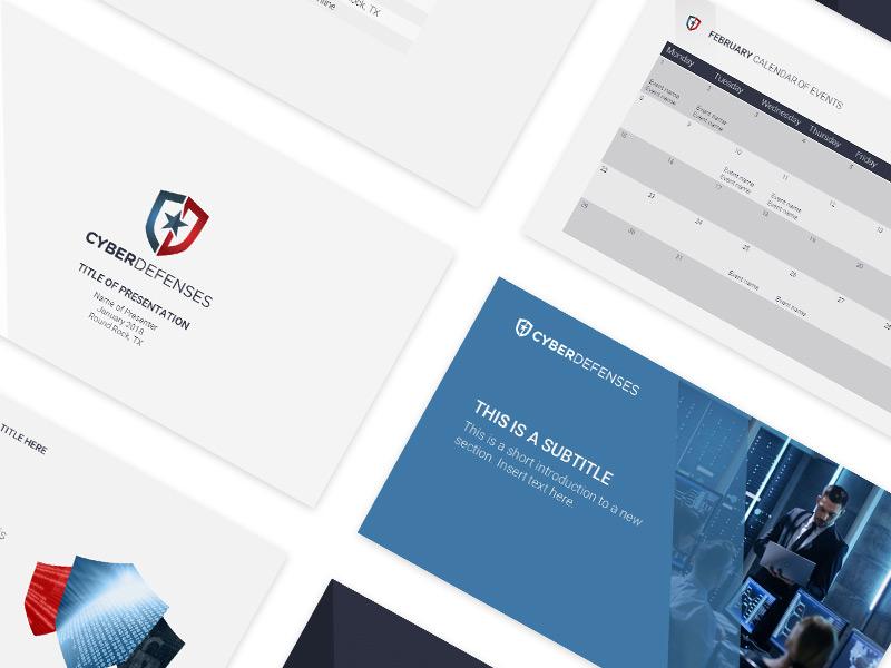 CyberDefenses Presentation Design