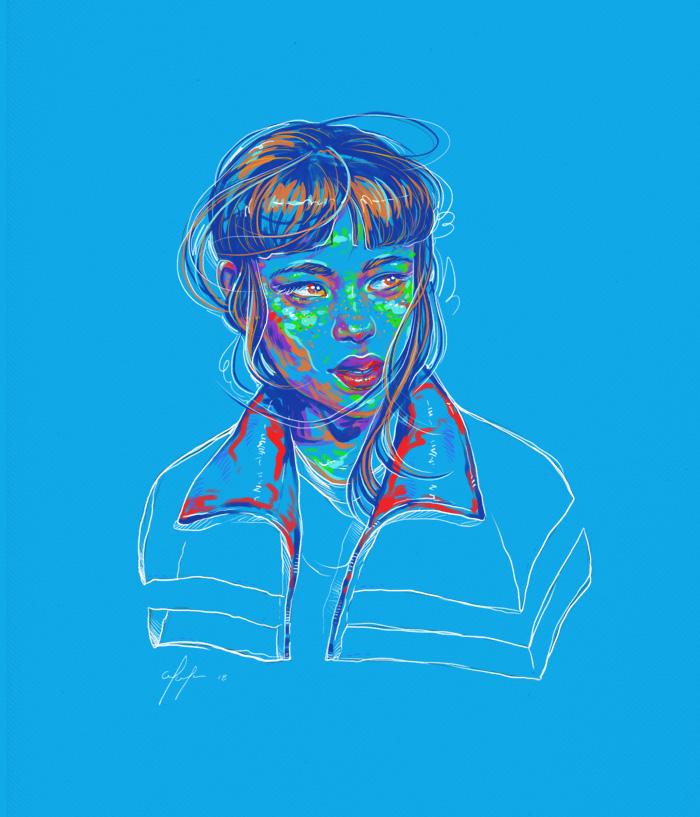 Rainbow Girl 59 by Tina Mailhot-Roberge