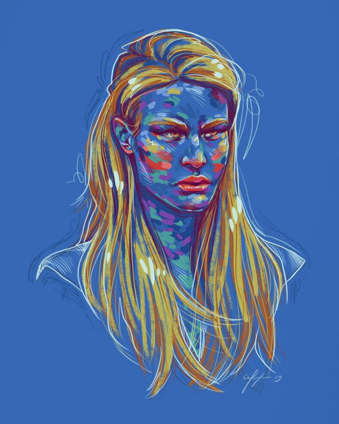 Rainbow Girl 71