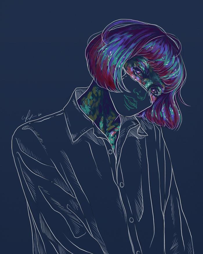 Rainbow Girl 77 - Tina Mailhot-Roberge