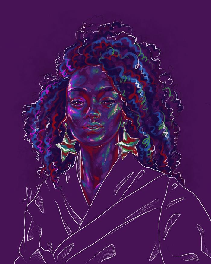 Rainbow Girl 82 by Tina Mailhot-Roberge - Vervex