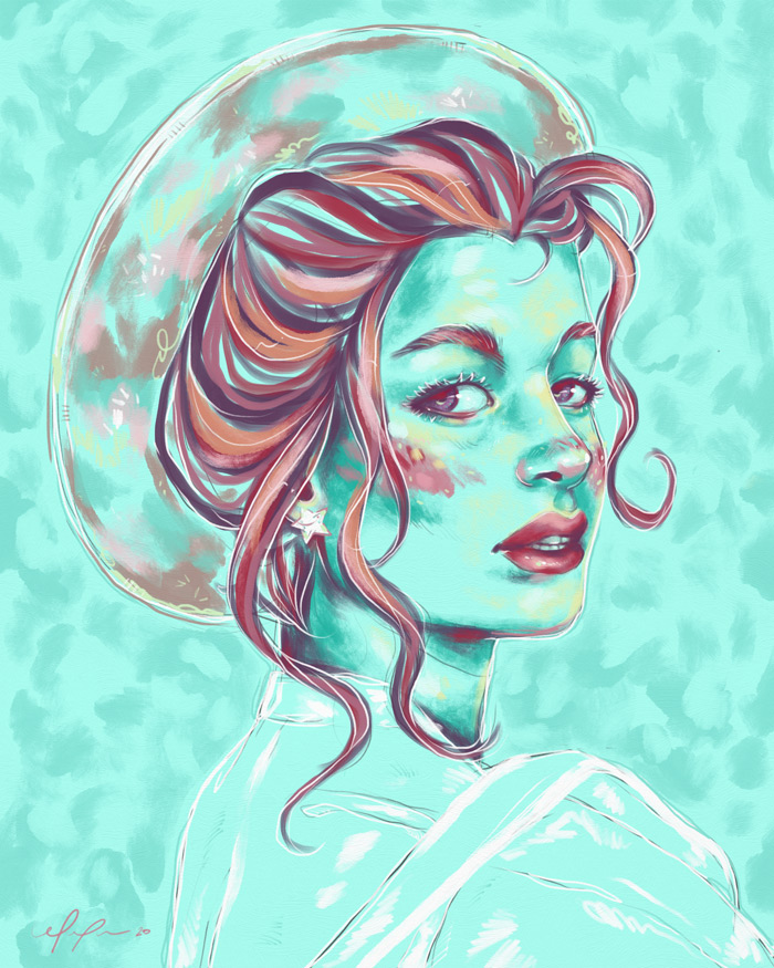 Rainbow Girl 83 by Tina Mailhot-Roberge aka Vervex